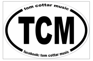 TCM tom cottar music sticker copy